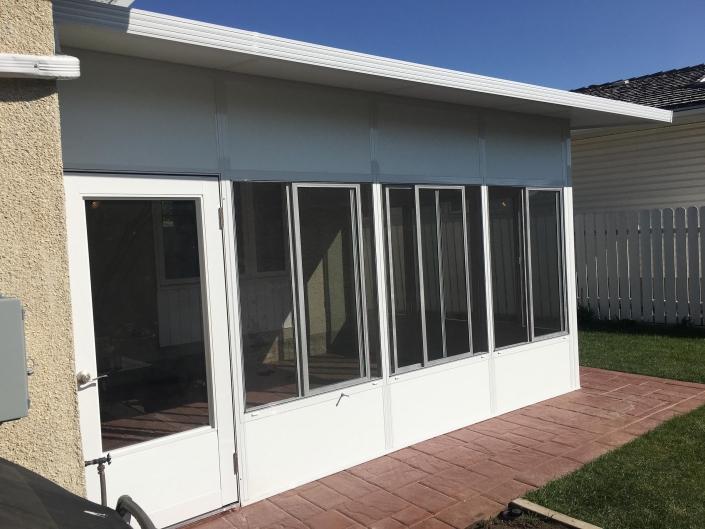 Job from 2018 brand new sunroom in regina