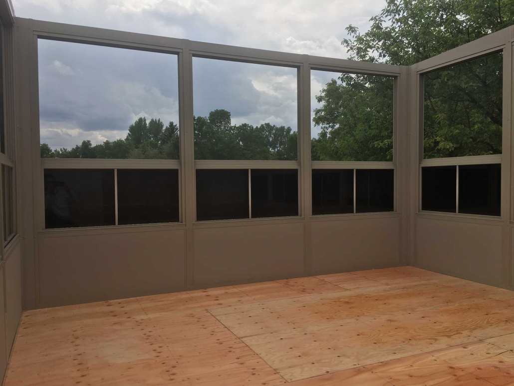 sunspace sunroom in progress-see how its built