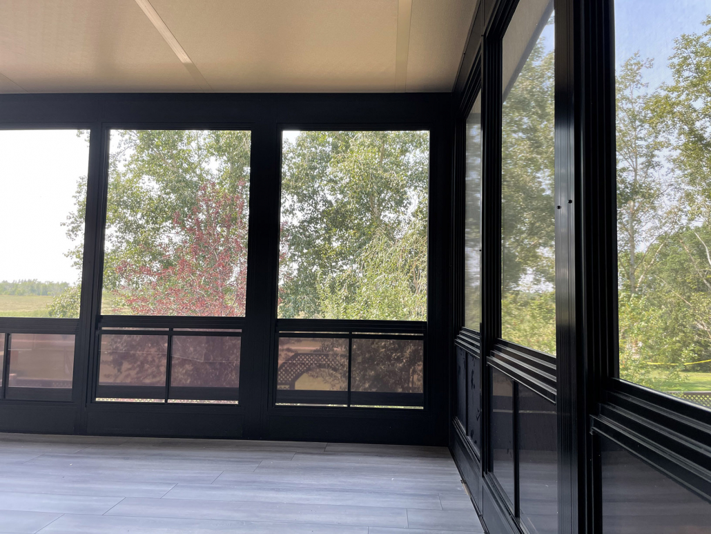 new sunroom windows